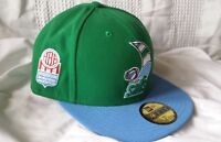 SAN DIEGO SAILS ABA New Era 59FIFTY mens fitted 7 1/4 hat (RARE THROWBACK CAP)