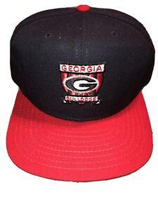 VINTAGE GEORGIA BULLDOGS NEW ERA SNAPBACK NCAA SEC CAP HAT NEW