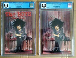 The Boys: Dear Becky #2 Peach Momoko Trade/Virgin Set CGC 9.6/9.8 Lot