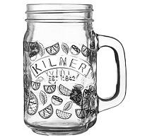 Mojito Decal Handled Jar, Glass