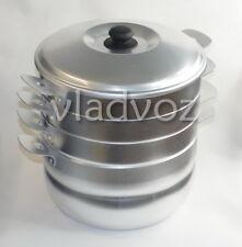 Dumpling Steamer Stainless Steel Oriental Uzbek Mantovarka Мантоварка Манты