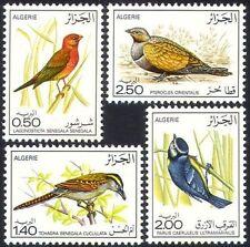 ALGERIE N°635/638**  Oiseaux, 1976 Algeria birds MNH