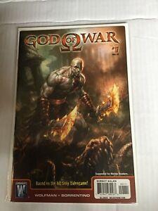 GOD OF WAR # 1 FIRST KRATOS FIRST PRINT DC COMICS
