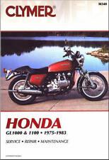 1975-1983 Honda Gold Wing Goldwing GL 1000 1100 CLYMER REPAIR MANUAL M340