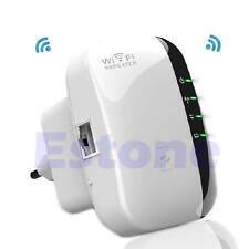 300Mbps Wireless-N AP Range 802.11 EU Plug Wifi Repeater Signal Extender Booster