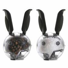 Durable Rabbit-Shaped Salt And Pepper Shaker Condiments Grinder Bottles Jars New