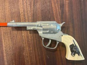 Vintage Hubley Cap Gun  Steer head Grips, Western, unfired unused unmarked