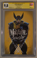 HUNT FOR WOLVERINE #1 FAN EXPO GOLD EXCLUSIVE CAMPBELL signed CGC SS 9.8 MARVEL