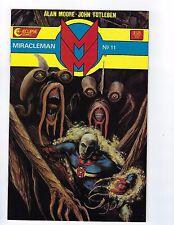 MIRACLEMAN # 11 (1985) VF/NM Eclipse Comics Low Print Run Alan Moore