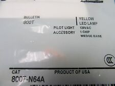 NEW AB Yellow LED Lamp 800T-N64A