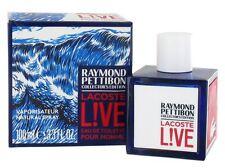 Lacoste Live Raymond Pettibon Edition 100ml Eau de Toilette Spray for Men