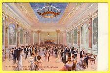cpa MARSEILLE Grand Hôtel de RUSSIE et d' ANGLETERRE La Salle des Fêtes BAL