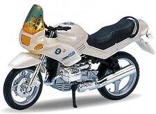 BLITZ VERSAND BMW R1100 RS perlweiss Welly Motorrad Modell 1:18 NEU & OVP