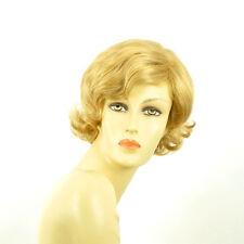 Perruque femme courte blond clair doré VALENTIA LG26