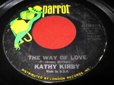 KATHY KIRBY 45  - THE WAY OF LIFE / OH DARLING - OLDIES