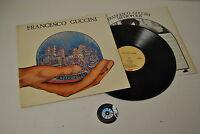 LP 33 FRANCESCO GUCCINI METROPOLIS ITALY 3C 064 18546 EMI 1981