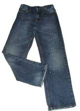 Boys Mossimo Paint Spackled Jeans Size 12 Regular Adj.