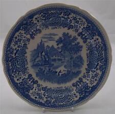 Villeroy & and Boch BURGENLAND BLUE - salad / dessert plate 21cm green backstamp