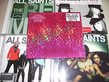 ALL SAINTS CD COLLECTION REMIXES AND DVD ALBUMS FREE POSTAGE