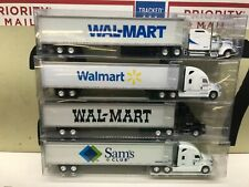 Tonkin Ho 1:87 Freightliner Kenworth Volvo with 53' Trailer Walmart Lot of 4 New