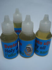 Holy Oil ANOINTING BLESSED Medjugorje 20ml