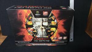 XFX ATI Radeon HD 4870 X2 1Gb DVI Dual DVI PCIe Graphics Video Card Brand New