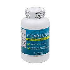 NU-Health CLEAR LUNG 200 CAPSULES Lung Cleansing Formula,FRESH FREE US SHIPPING