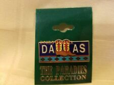 Dallas Texas TX Cowboy Boots Collector's Souvenir Pin