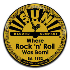 Sun Records Rock 'n' Roll Country Elvis Cash 25mm / 1 Inch D Pin Button Badge