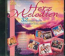 Herzmelodien-32 Instrumental-Hits Ikarus, Pepe Solera, Kirmes Duo, Walt.. [2 CD]