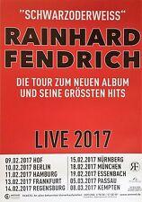 RAINHARD FENDRICH  2017  TOUR   - orig.Concert Poster -- Konzert Plakat  A1 NEU