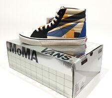 VANS LIMITED EDITION MoMA Sk8-Hi Lyubov Popova Skate Shoes -Men's 9.5 Womens 11