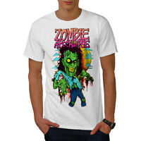 Wellcoda Zombie Apocalypse Horror Mens T-shirt,  Graphic Design Printed Tee