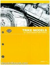 2011 Harley-Davidson FLHTCUTG Tri Glide Motorcycle Touring Parts Manual : 996...