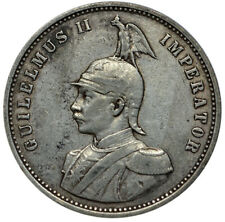GERMAN EAST AFRICA 1 Rupie 1893 Silver VF Semi-key Date!