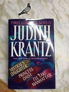 JUDITH KRANTZ (Omnibus of 3) Mistral's Daughter, Princess Daisy, I'll Take Manha