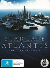 Stargate Atlantis Complete Series (DVD, 26 Discs)