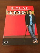 HOUSE - SERIE TV - TEMPORADA 3 COMPLETA + CONTENIDOS EXTRA - 6 DVD - 1008 MIN