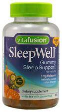 Vitafusion SleepWell Gummies White Tea with Passion Fruit 60 Each