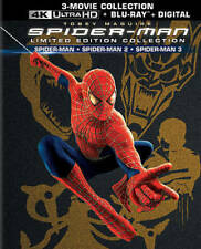 Spider-Man 1, 2, 3  Blu-ray,  3-movie Limited Edition Collection