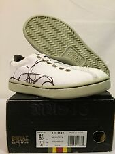 NEW Women's L.A.M.B. Gwen Stefani Music Tex Shoes Sneakers Canvas White 6.5