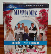 MAMMA MIA THE MOVIE DIGIBOOK BLU-RAY+LIBRO NUEVO PRECINTADO CLASICO (SIN ABRIR)