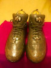 Mauri Gray Goose Ostrich shoes SZ 11 Mens