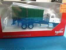 NIB Herpa 1/87th  Roll-off Garbage (Waste) Truck