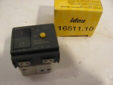 VIMAR IDEA 16511.10  SWITCH  with TEST CIRCUIT 120 / 230 V  BLUEWATER  CARVER
