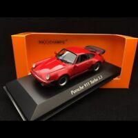 Porsche 911 Turbo 3.3 art 930 1977 rot 1/43 Minichamps 940069000