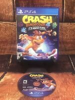 Crash Bandicoot 4 It's About Time (Sony PlayStation 4, PS4, 2020)