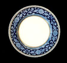 Booths Jacobean Blue Salad Plate, circa 1900