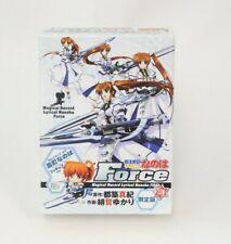 Magical Girl Lyrical Nanoha Force 3 Limited Edition Used Japanese Language Manga