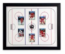 Hockey Sports Display Board: Trading Card Sports Field Frame 18x22